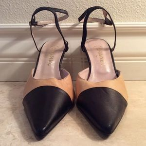 CHANEL Classic Ankle Straps Heels France NEW!